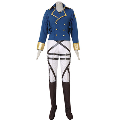 Attack on Titan Shingeki no Kyojin Eren Jaeger Survey Corps Cosplay Kostym