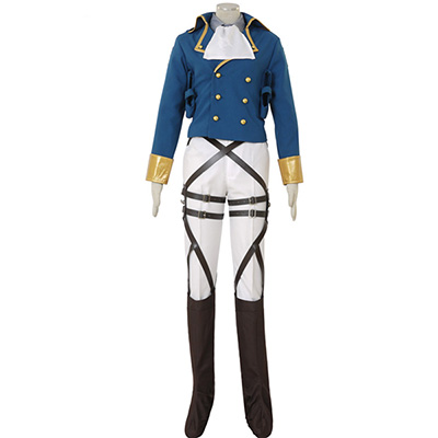 Fantasias de Attack on Titan Shingeki no Kyojin Levi Ackerman Survey Corps Cosplay