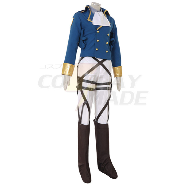 Attack on Titan Shingeki no Kyojin Levi Ackerman Survey Corps Cosplay Costume