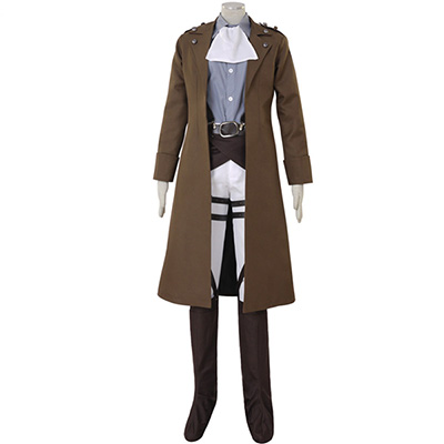 Costume Attack on Titan Shingeki no Kyojin Levi Ackerman Survey Corps Cosplay