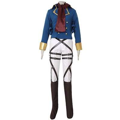 Attack on Titan Shingeki no Kyojin Mikasa Ackerman Survey Corps Cosplay Kostym