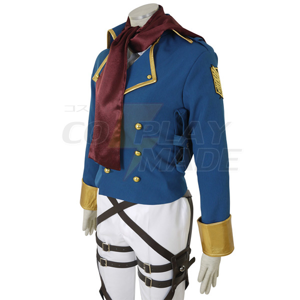 Attack on Titan Shingeki no Kyojin Mikasa Ackerman Survey Corps Cosplay Costume