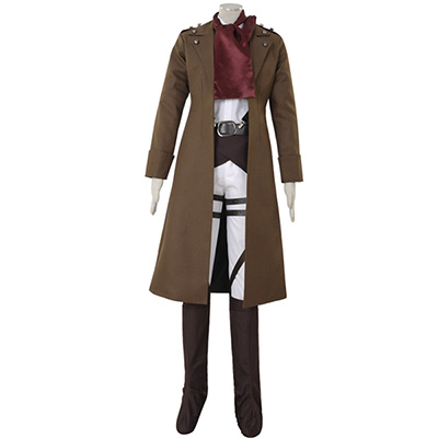 Costume Attack on Titan Survey Corps Mikasa Ackerman Cosplay Déguisement