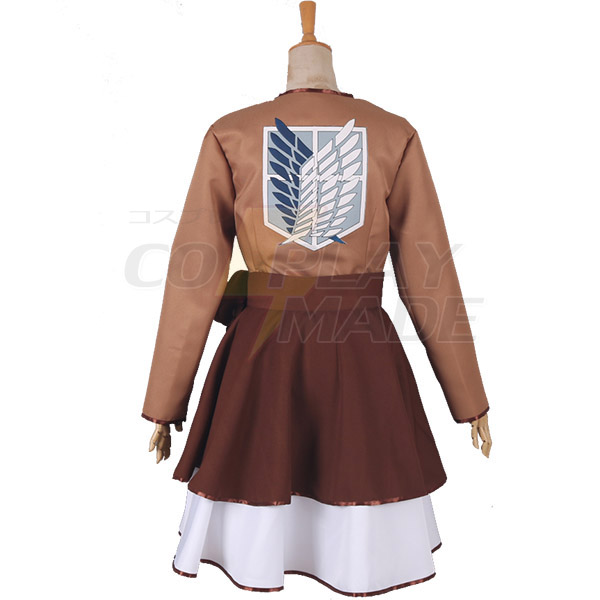 Attack on Titan The Recon Corps Wings of Freedom Lolita Dress Cosplay Costume