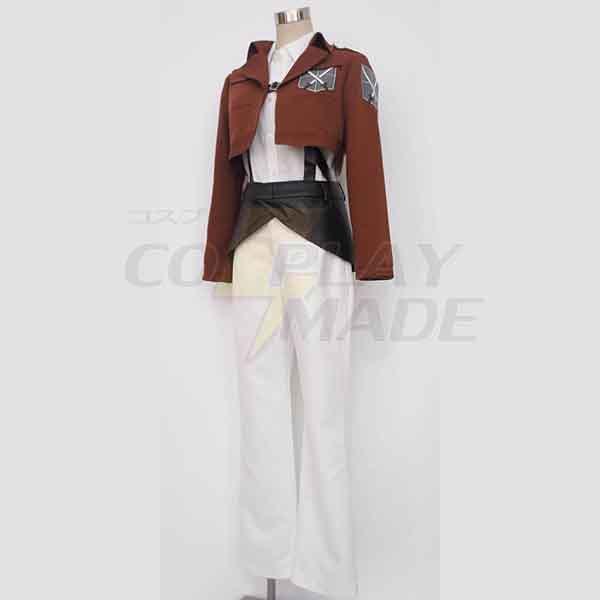 Costumi Attack on Titan Shingeki no Kyojin Trainee Class Cosplay
