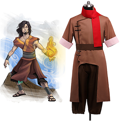 Costumi Avatar: The Last Airbender Avatar Won Cosplay