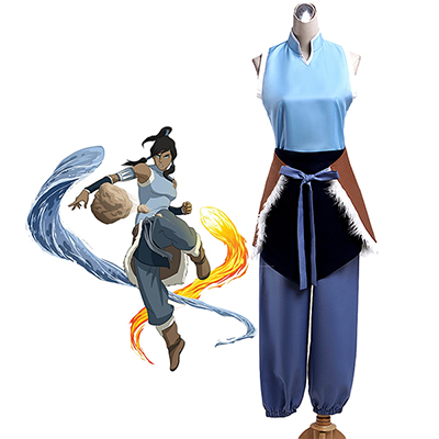 Costumi Avatar: The Last Airbender Avatar Korra Cosplay