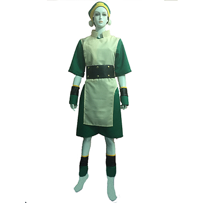 Avatar: The Last Airbender Avatar Toph Bei Fong Cosplay Costume