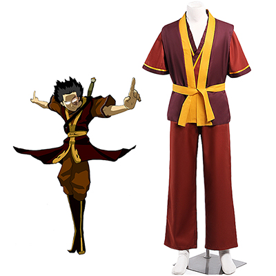 Avatar: The Last Airbender Avatar Zuko Cosplay Costume