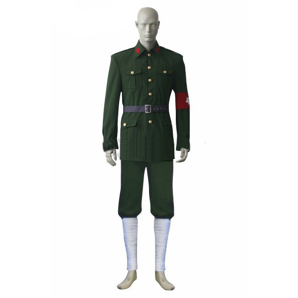 Costumi Axis Powers Hetalia APH Allied Forces China Uniforme Cosplay
