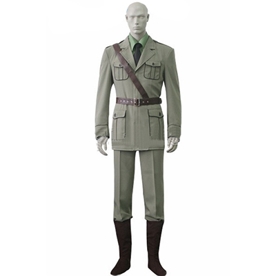 Axis Powers Hetalia APH Britain Uniform Cosplay Kostyme