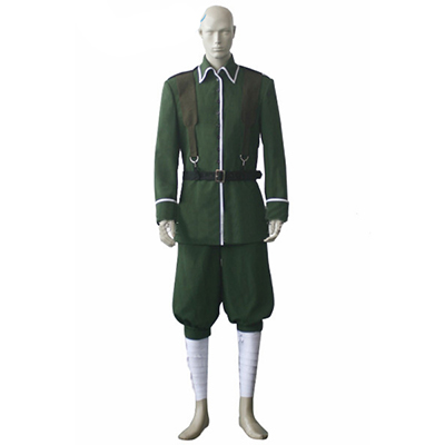Axis Powers Hetalia APH Germany Uniform Cosplay Kostym