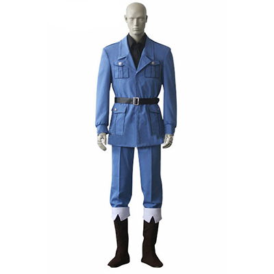 Axis Powers Hetalia APH Italy Uniform Cosplay Kostym