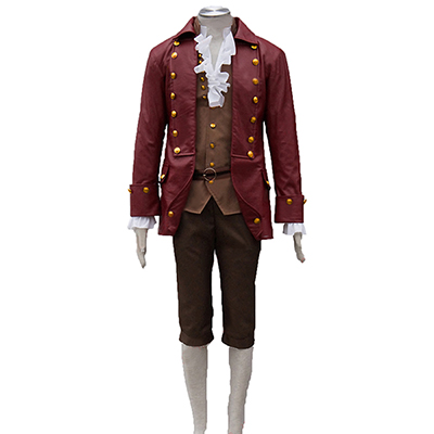 Costumi Beauty and the Beast Gaston Cosplay