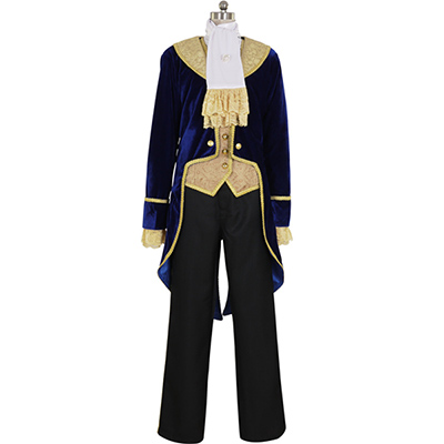 Beauty and the Beast Prince Dan Stevens Cosplay Costume