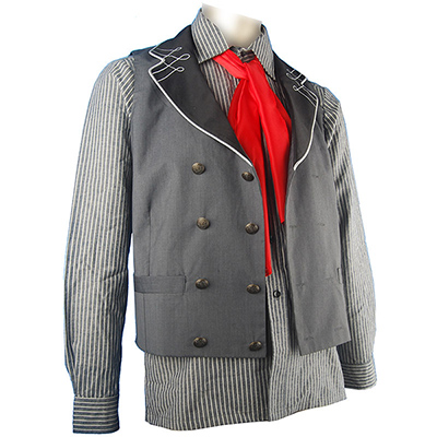 BioShock Infinite Booker Dewitt Halloween Cosplay Costume