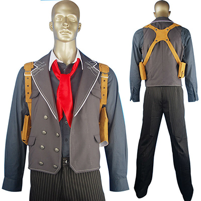Costumi BioShock Infinite Booker Dewitt Suit Geek Cosplay