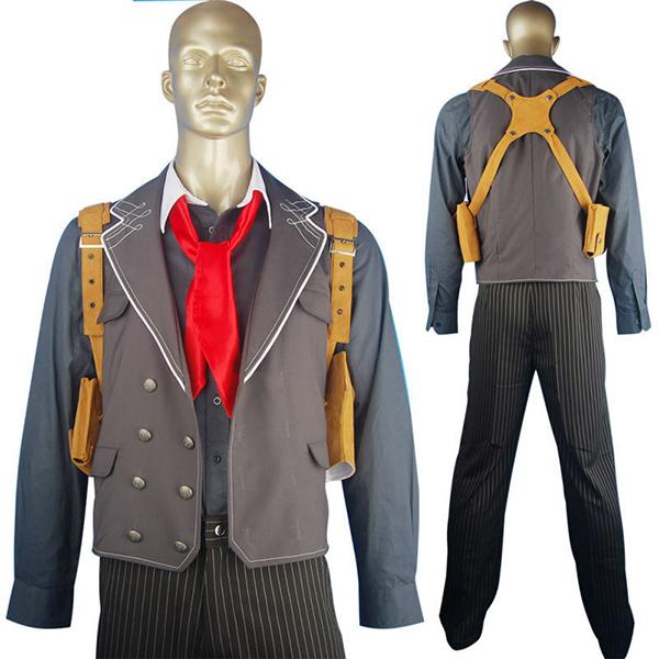 Costumi BioShock Infinite Booker Dewitt Suit Geek Cosplay