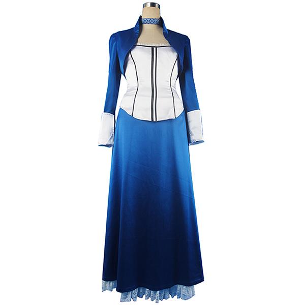 Bioshock Infinite Elizabeth Cosplay Kostume Fancy Kjole