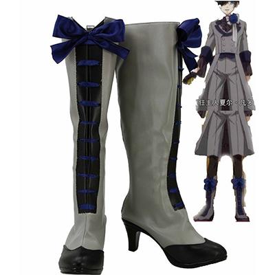 Black Butler 3 Kuroshitsuji Ciel Cosplay Boots