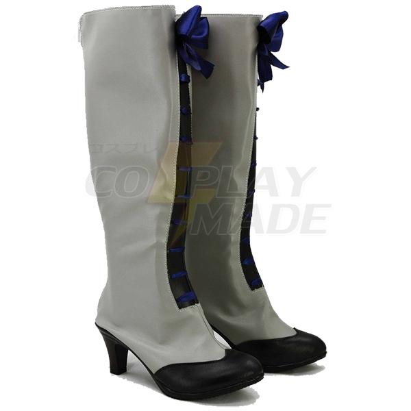 Zapatos Negro Butler 3 Kuroshitsuji Ciel Cosplay Botas