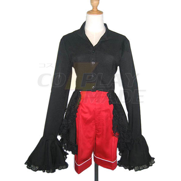 Black Butler Ciel Phantomhive Red Boy Lolita Cosplay Costume