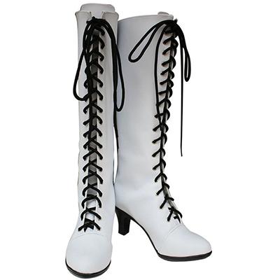 Black Butler Kuroshitsuji Angela Blanc Cosplay Boots