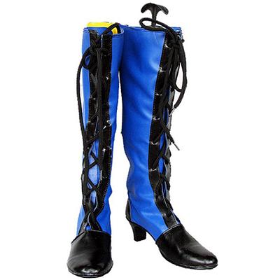 Black Butler Kuroshitsuji Ciel Cosplay Blue Boots
