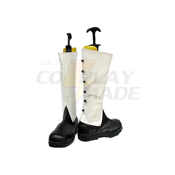 Zapatos Negro Butler Kuroshitsuji Ciel Monastery Ver Cosplay Botas