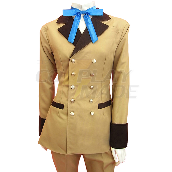 Disfraces Negro Butler Kuroshitsuji Ciel Phantomhive Gray Suit Cosplay