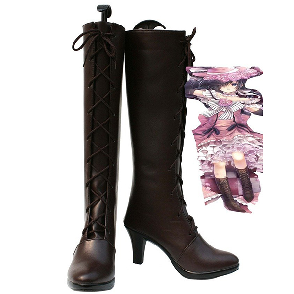 Black Butler Kuroshitsuji Ciel Women\'s Cosplay Boots