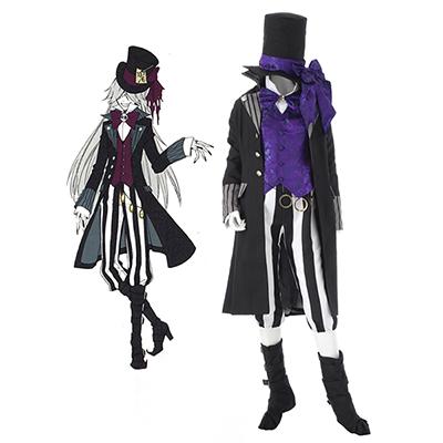 Black Butler Kuroshitsuji Grim Reapers Undertaker Cosplay Kostyme