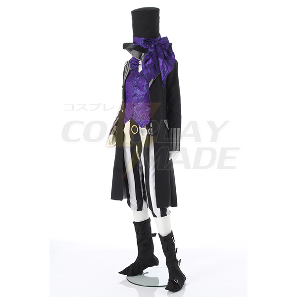 Black Butler Kuroshitsuji Grim Reapers Undertaker Cosplay Costume