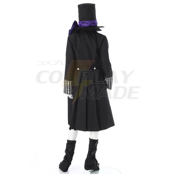 Disfraces Negro Butler Kuroshitsuji Grim Reapers Undertaker Cosplay