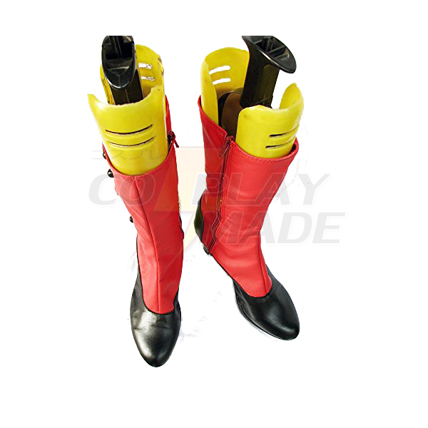 Black Butler Kuroshitsuji Madame Red Cosplay Boots