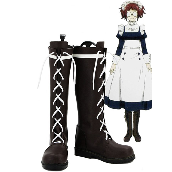 Black Butler Kuroshitsuji Mey Rin Cosplay Stivali