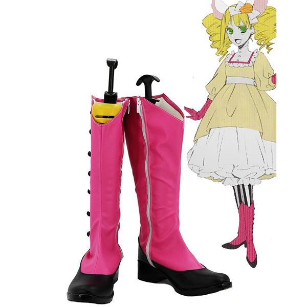 Zapatos Negro Butler OVA Kuroshitsuji Elizabeth Cosplay Botas