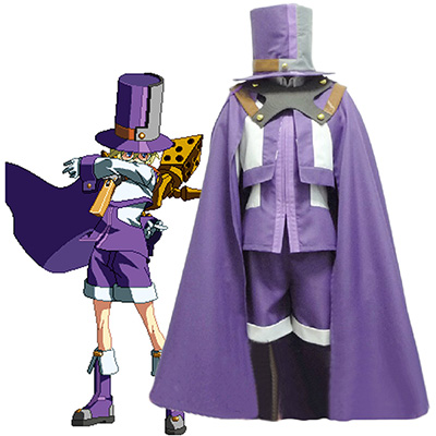 Blazblue Carl Clover Cosplay Costume Any Size Outfit