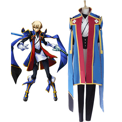 Blazblue Jin Kisaragi Cosplay Costume Custom Made