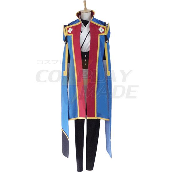 Costumi Blazblue Jin Kisaragi Cosplay Carnevale