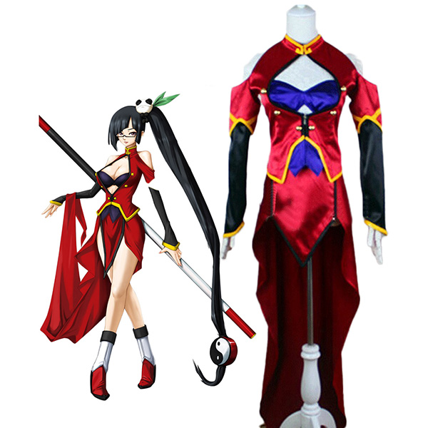Costumi Blazblue Litchi Faye-Ling Cosplay Carnevale