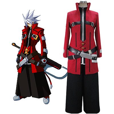 Blazblue Ragna the Bloodedge Cosplay Kostym Karneval