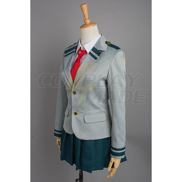 Disfraces Boku no Hero Academia My Hero Academia Tsuyu School Uniforme Cosplay