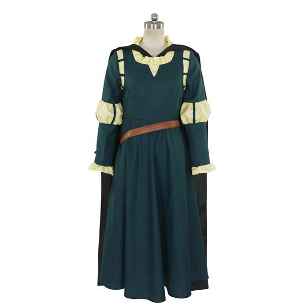 Brave Merida Princess Cosplay Costume