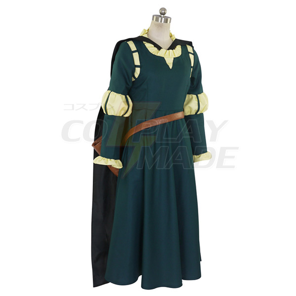 Costumi Brave Merida Principessa Cosplay