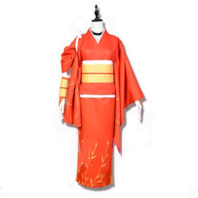 Bungo Stray Dogs Kyoka Izumi Kimono Cosplay Kostym