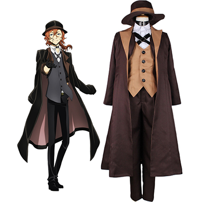 Costume Bungou Stray Dogs Chuya Nakahara Cosplay Déguisement