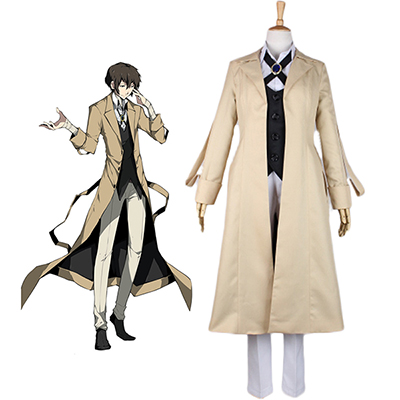 Costume Bungou Stray Dogs Osamu Dazai Cosplay Déguisement
