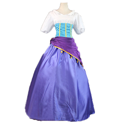 The Hunchback of Notre Dame Esmeralda Cosplay Kostuum