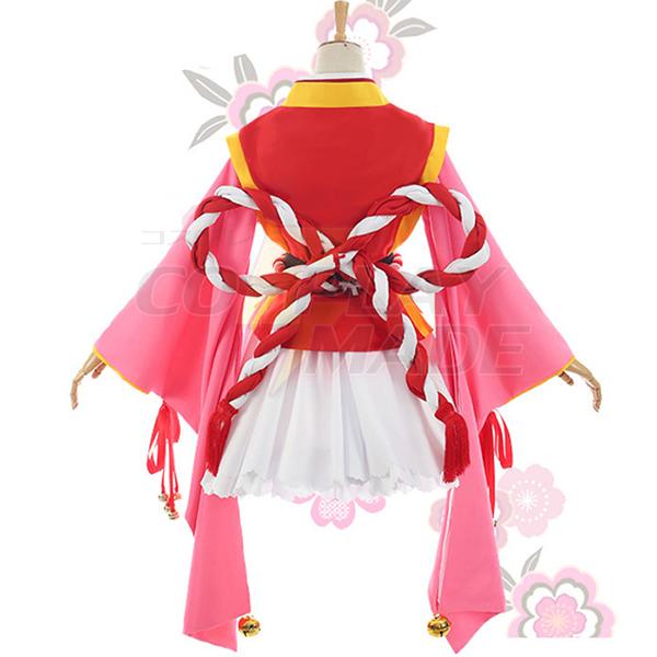 Disfraces Cardcaptor Sakura Kinomoto Sakura Kimono Cosplay Escenario Ropa